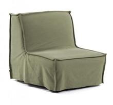 Fotel rozkładany ANNALY - zielony