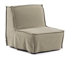 Fotel rozkładany ANNALY - beżowy
