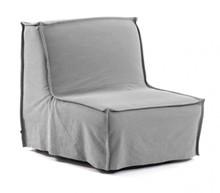 Fotel rozkładany ANNALY - szary
