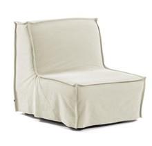 Fotel rozkładany ANNALY - biały