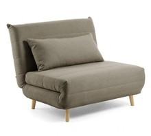 Fotel rozkładany ITAMBO - brązowy