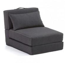 Fotel rozkładany YART - grafitowy