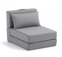 Fotel rozkładany YART - szary
