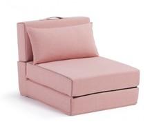 Fotel rozkładany YART - różowy