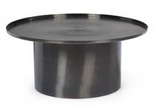 Stolik okrągły KALPITA 80 - czarny