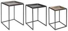 Zestaw trzech stolików AMIRA