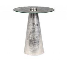 Stolik okrągły DINPAL 40 - srebrny