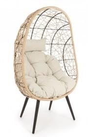 Krzesło ogrodowe MARLEY - beżowy