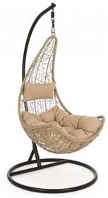 Fotel wiszący AMIRANTES - brązowy