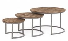 Zestaw trzech stolików NARVIK