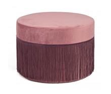 Pufa LEILANI 45 cm - różowy