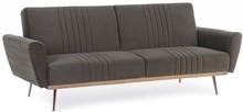 Sofa rozkładana JOHNNY - brązowy