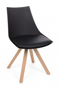Krzesło MAYER - czarny