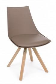 Krzesło MAYER - brązowy