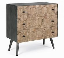 Komoda KENDRIC - 3 szuflady