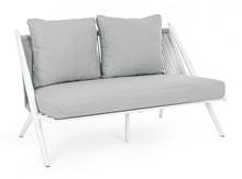 Sofa ogrodowa ALOHA - biały