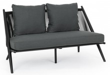 Sofa ogrodowa ALOHA - czarny