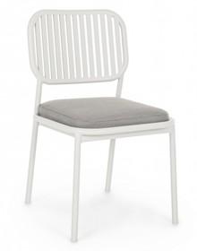 Krzesło ogrodowe RODRIGO - biały