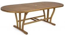 Stół rozkładany NOEMI OWAL 180-240x100