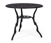 Stół ogrodowy VICTORIA 80 - czarny