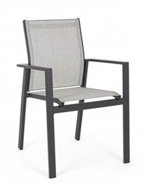 Krzesło do ogrodu CROZET CHARCOAL
