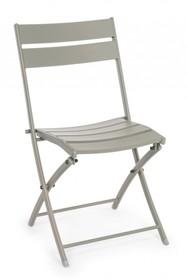Krzesło składane MISTRAL - taupe