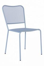 Krzesło ogrodowe MORGANA - niebieski