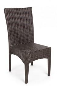 Krzesło ogrodowe ANTALYS - ciemny brąz