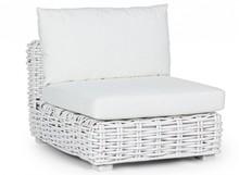 Fotel ogrodowy OLIVENZA - biały