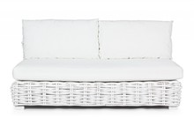 Sofa ogrodowa OLIVENZA - biały