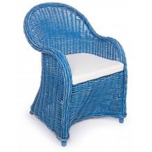 Fotel ogrodowy MARTIN - niebieski