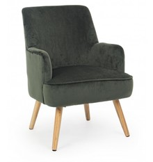 Fotel ADELINE - zielony