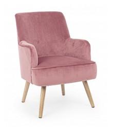 Fotel ADELINE - różowy