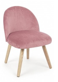 Krzesło ADELINE - różowy