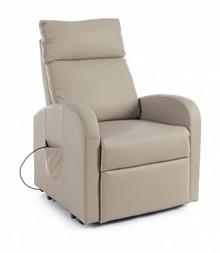 Fotel elektryczny LIFT TAUPE - beżowy