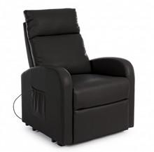 Fotel elektryczny LIFT - czarny