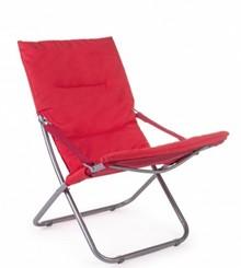 Fotel składany OCEAN RELAX - czerwony
