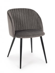 Krzesło QUEEN - szary