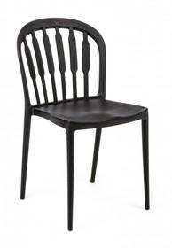 Krzesło ogrodowe PAXTON - czarny
