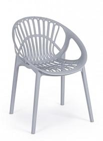 Krzesło ogrodowe CASSIOPEA - szary