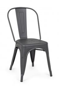 Krzesło MINNESOTA - grafitowy