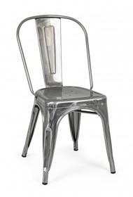 Krzesło MINNESOTA - metaliczny