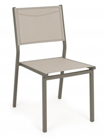 Krzesło ogrodowe HILDE TAUPE