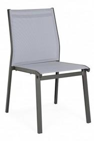 Krzesło ogrodowe LIAM CHARCOAL