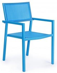 Krzesło ogrodowe KIRSTIN BLUE