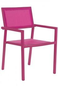 Krzesło ogrodowe KIRSTIN FUSHIA