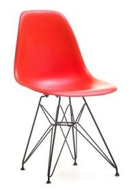 Krzesło z tworzywa MPC ROD - czerwony