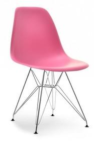 Krzesło z tworzywa MPC ROD - różowy