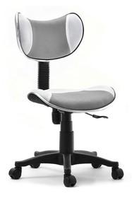 Krzesło obrotowe dziecięce CAT - szary/biały