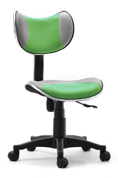 Ergonomiczne krzesło rosnące z dzieckiem zielonoszare